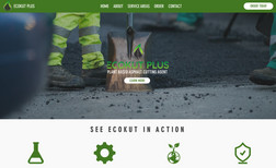 EcoKut Plus Website about environmental friendly alternative m...
