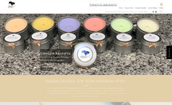 uniqueaksents This website was design for two young ladies makin...