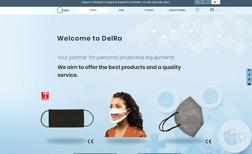 website e-commerce Delra Spécialiste d'équipements de protection individuel...