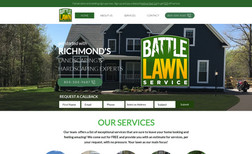 Battle Lawn Service Lawncare services.