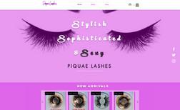 Piquae Lashes High fashion, designer, false eyelashes retailer. ...