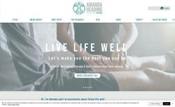 Amanda Heading Nutrition & Physio E-commerce website to showcase a new brand image a...