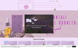 Lavandlove Lavender Products Website
