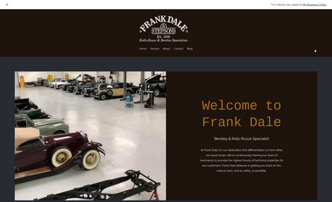 Frank Dale Booking platform with lead generation pages for sp...
