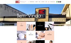 Espaco E hair design Site institucional de salão de beleza