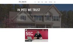 In Pete We Trust Realtor Personal Website + Branding