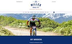 Miller Bike Fit Our client Miller Bike Fit needed a stunning onlin...