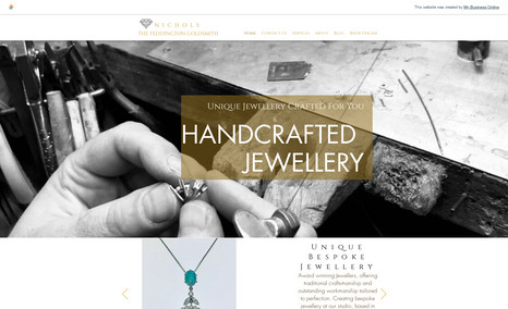 Nichols High Street Jewellery Shop with back end shop capa...