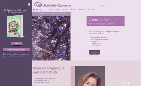 Veronique Morre Création d'un site, coaching de bien-être, tabacol...