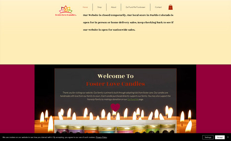 FosterLoveCandles Foster Love Candles are handmade, soy candles made...