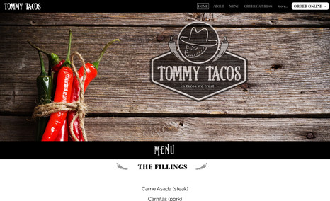 Tommy Tacos A Mexican Food Online Order Restaurant