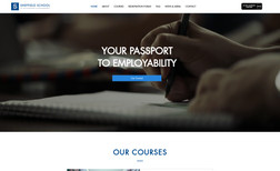 Sheffield School of Accountancy Website Design & Development + Logo & branding