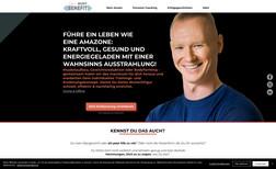 Your Body Benefit Webseite für einen Online Coaching und Personal Tr...