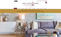 Heat N Light Centre Home decor store and online store based in Skegnes...