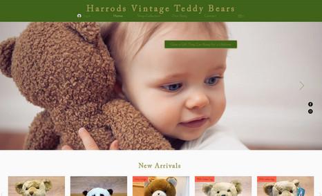 Harrods Vintage Teddy Bears