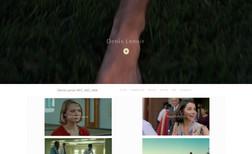 director of photography Portfolio website for established director of phot...