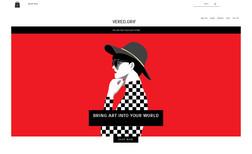 ורד גריף אמנות דיגיטלית - verd grif חנות אונליין - אתר מסחרי שאופיין - עוצב וקודם בהתא...