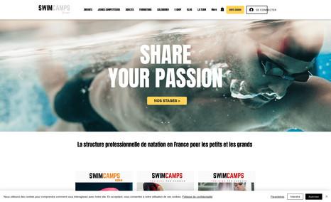 SWIMCAMPS en France et à Toulouse Référencement en 1er page dans les résultats des m...