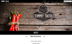 Tommy Tacos Advance Website using Databases + Wix Programming ...
