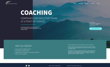 Will Simpson Website redesign for business coach