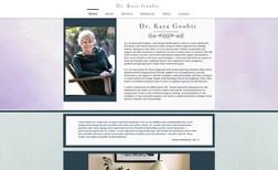 Dr. Kara Goobic, Licensed Psychologist Web design, training and marketing
