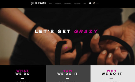 Grazing Company This website offers a sleek new take on the grazin...