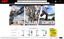 SBS Shop Tienda de bicicletas, scooters y partes en España.