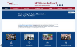 novadashboard Fully redesigned website for the Northern Virginia...