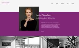 KATIA CIESIELSKA - LUXEMBOURG Independent Director & Counsel site & blog