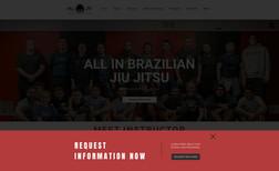 All In BJJ Fully optimized Brazilian Jiu Jitsu Academy websit...