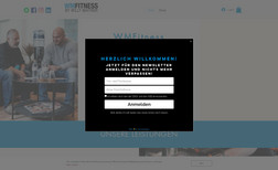 WMFitness.at Personal fitness trainer website with an online sh...
