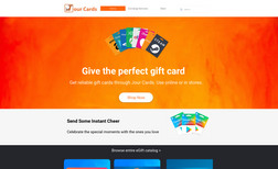 jourcardsstore Full Design + SEO + Database Setup