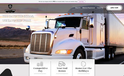 "White Lion Transportation ""Owner and operator, Jose Lago, began trucking in ..."