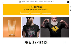 Nerd Factory An ecommerce site selling geeky merchandise