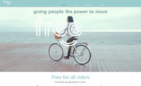 Free Bike Community transportation movement
