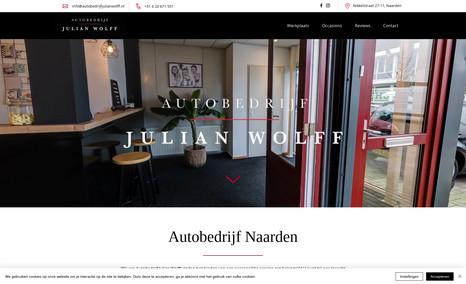 Autobedrijf Julian Wolff Wij van Autobedrijf Julian Wolff vinden het bieden...