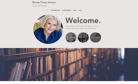 Bonnie Omer Johnson Bonnie is an author and teacher in Louisville, KY....