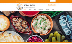 ideal-deli This is dual language website created for local de...
