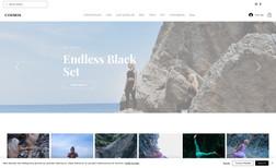 Cosmos Activewear E-commerce Development