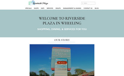 riversideplaza Classic site designed for Riverside Plaza in Wheel...