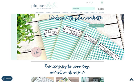 Planner Kate All things organization!