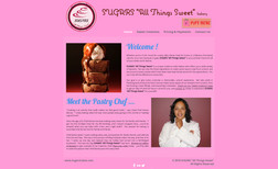 Sugars All Things Sweet This is a very simple website that allows our bake...