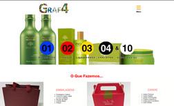 G4 Grafica Site Institucional de uma indústria de embalagens ...