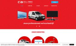 mijnsite-3 Redesign website voor een ledverhuurbedrijf uit Le...