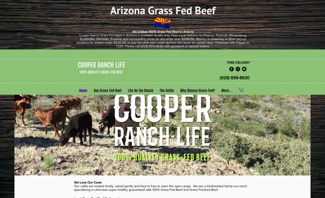 cooperranchlife Landmark Arizona ranch committed to quality, care ...