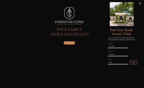 sydenham Luxury Healthcare  Practice.