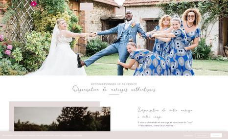 Cherry Wedding à Paris Référencement en 1er page dans les résultats des m...