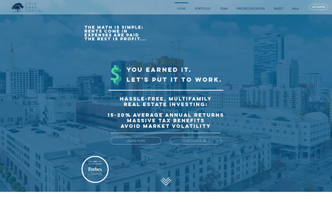 Four Oaks Capital Hassle-Free, Multifamily Real Estate Investing