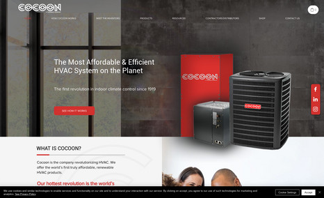 COCOON The most affordable indoor heating and cooling sys...