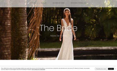 THE BRIDE Site de robes de Mariée La réunion